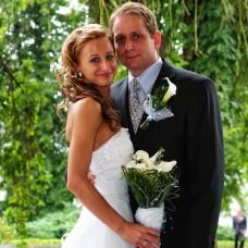Svatební fotografie - novomanželé